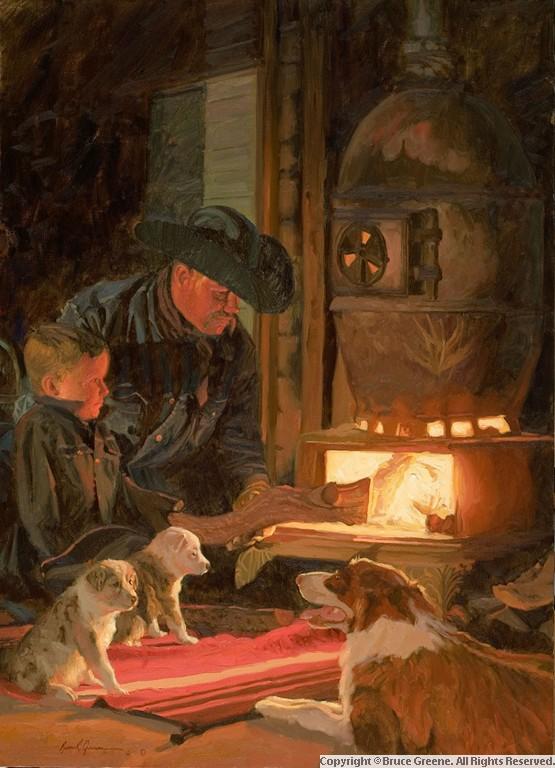 Bruce Greene Paintings
